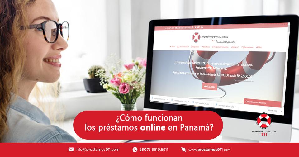 ¿Cómo funcionan los préstamos online en Panamá?