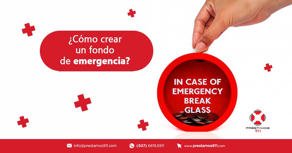 ¿Cómo crear un fondo de emergencia?