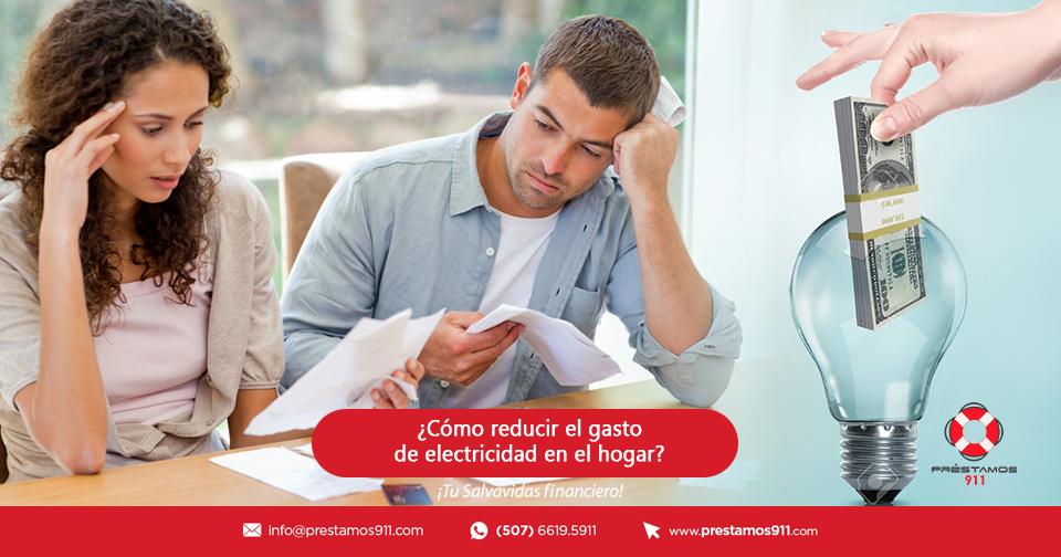 ¿Cómo reducir el gasto de electricidad en el hogar?