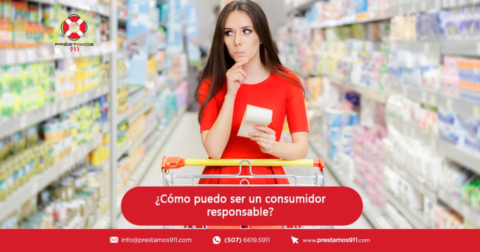 ¿Cómo puedo ser un consumidor responsable?