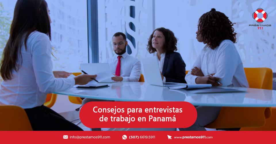 Consejos para entrevistas de trabajos en Panamá